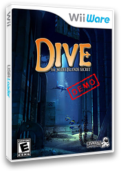 Dive: The Medes Island Secret (Demo) WiiWare cover (XHKE)