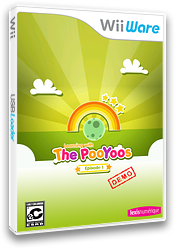 Learning with the Pooyoos Episode 1 Demo WiiWare cover (XINE)
