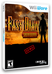 Fast Draw Demo WiiWare cover (XITE)