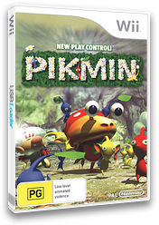 Pikmin Wii cover (R9IP01)