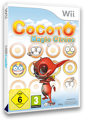 Cocoto Magic Circus Wii cover (RMRPNK)