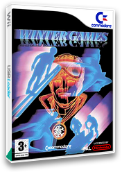 Winter Games VC-C64 cover (C9EP)
