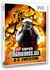 New Super Mario Bros. Wii 0-5 Evolution CUSTOM cover (EVOP01)