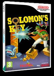 Solomon's Key VC-NES cover (FAOP)