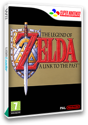 The Legend of Zelda: A Link to the Past VC-SNES cover (JADF)