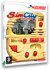 SimCity VC-SNES cover (JAFD)