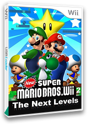 New Super Mario Bros. Wii 2: The Next Levels CUSTOM cover (PPNP01)