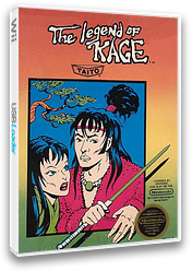 The Legend of Kage VC-NES cover (FATE)
