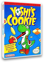 Yoshi's Cookie VC-NES cover (FCYE)