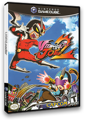 Viewtiful Joe 2 GameCube cover (G2VE08)