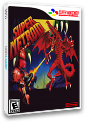 Super Metroid VC-SNES cover (JAVE)
