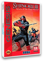 Shinobi III: Return of the Ninja Master VC-MD cover (MBFE)