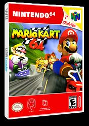 Mario Kart 64 VC-N64 cover (NABE)