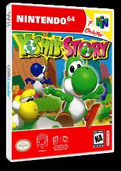 Yoshi's Story VC-N64 cover (NAHE)