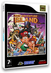 New Adventure Island VC-PCE cover (PAIE)