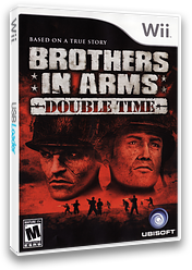 Brothers In Arms: Road to Hill 30 Wii cover (RI8E41)