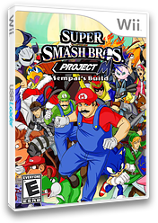 Super Smash Bros. Project M: Sempai's Build CUSTOM cover (RSBE32)