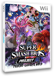 Super Smash Bros. Project M: Psycho Ghost's Build CUSTOM cover (RSBE37)