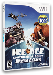 Ice Age: Continental Drift - Arctic Games Wii cover (SIAE52)