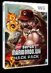 New Super Mario Bros. Wii Hack Pack CUSTOM cover (SMNE36)