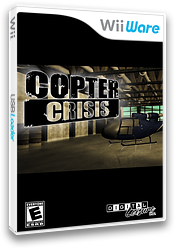 Copter Crisis WiiWare cover (WCPE)