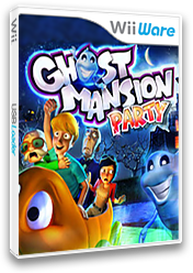 Ghost Mansion Party WiiWare cover (WHUE)