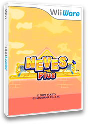 Neves Plus WiiWare cover (WNVE)