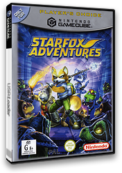 Star Fox Adventures GameCube cover (GSAP01)