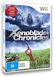 Xenoblade Chronicles Wii cover (SX4P01)