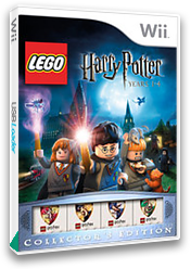 LEGO Harry Potter: Years 1-4 Wii cover (R25PWR)