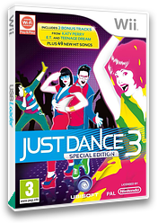 Just Dance 3 Wii cover (SJDP41)