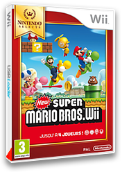 New Super Mario Bros. Wii pochette Wii (SMNP01)