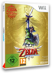 The Legend of Zelda : Skyward Sword pochette Wii (SOUP01)