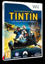 Les Aventures de Tintin :Le Secret de la Licorne pochette Wii (STNP41)