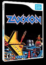 Zaxxon 3-D VC-Arcade cover (E6VE)