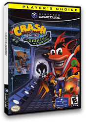 Crash Bandicoot: The Wrath of Cortex GameCube cover (GCBE7D)