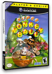 Super Monkey Ball GameCube cover (GMBE8P)