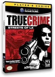 True Crime: Streets of LA GameCube cover (GTLE52)