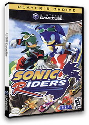 Sonic Riders GameCube cover (GXEE8P)