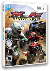 MX vs. ATV: Untamed Wii cover (RMXE78)