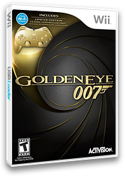 GoldenEye 007 Wii cover (SJBE52)