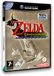 The Legend of Zelda: The Wind Waker GameCube cover (GZLP01)