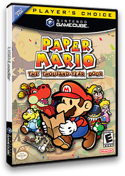 Paper Mario: The Thousand-Year Door GameCube cover (G8ME01)
