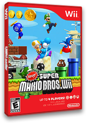 Newer Super Mario Bros. Wii CUSTOM cover (KMNE03)