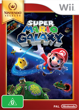 Super Mario Galaxy Wii cover (RMGP01)