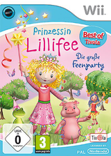 Prinzessin Lillifee: Die große Feenparty Wii cover (RYJPTV)