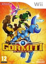 Gormiti:Die Herrscher der Natur! Wii cover (SGLPA4)