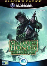 Medal of Honor: Frontline GameCube cover (GMFP69)