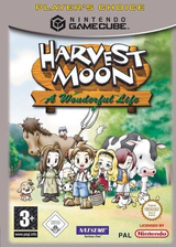 Harvest Moon: A Wonderful Life GameCube cover (GYWPE9)