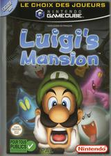 Luigi's Mansion pochette GameCube (GLMP01)